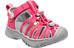 Keen Whisper Sandals Children honeysuckle/neutral gray